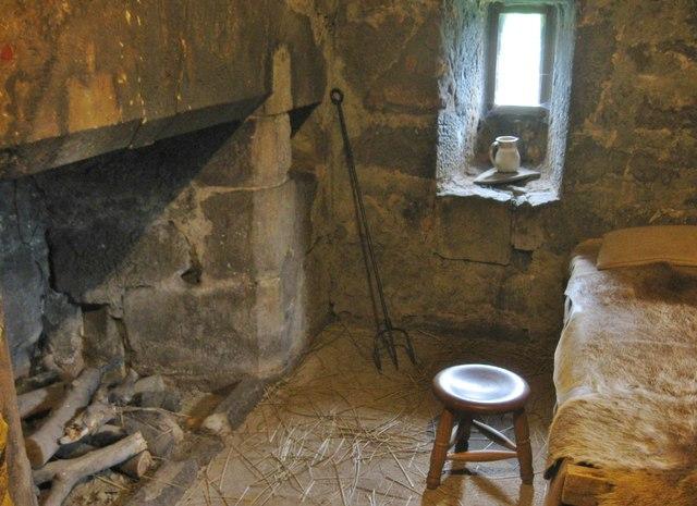 A bedroom in  Preston Tower