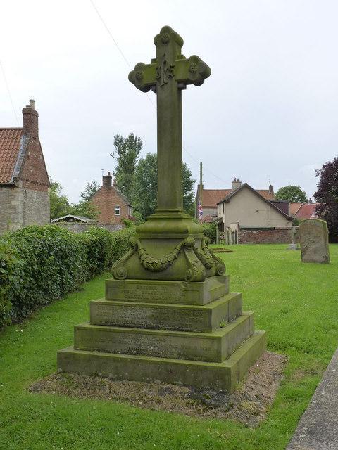 War Memorial, North Scarle
