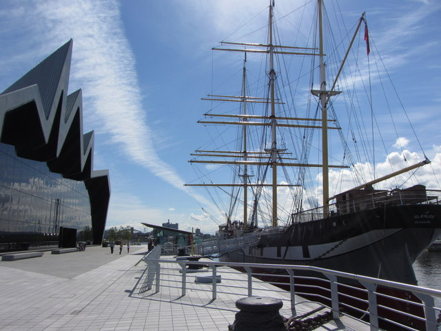 Riverside Museum and SV Glenlee, Glasgow
