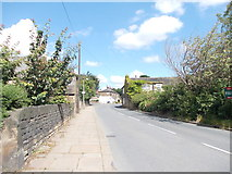 SE2425 : Upper Batley Low Lane - viewed from Old Hall Road by Betty Longbottom