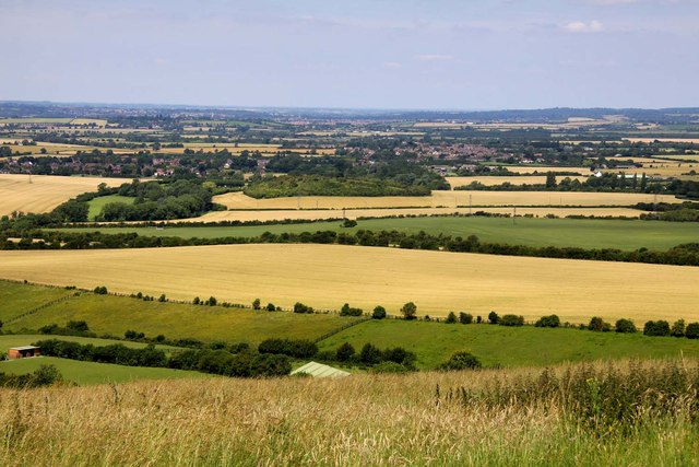 The view from Whipsnade Zoo