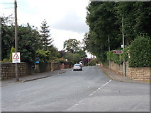 SE2425 : Carlinghow Lane - viewed from Timothy Lane by Betty Longbottom