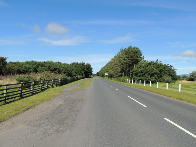 Road to Maidens from Turnberry
