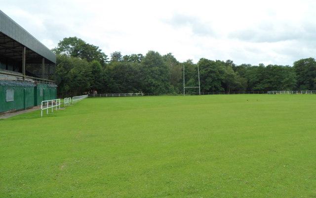 Rugby pitch, Islwyn Park, Pontllanfraith