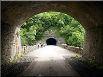 SK1273 : Chee Tor tunnels on the Monsal Trail by Graham Hogg