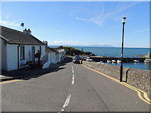 NS2515 : Harbour View, Dunure by Billy McCrorie