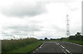 NS3563 : Power lines at Moniabrock by John Firth