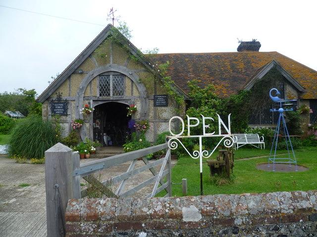The blacksmith at Glynde