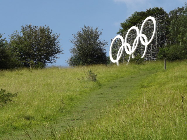Olympic Rings on Box Hill