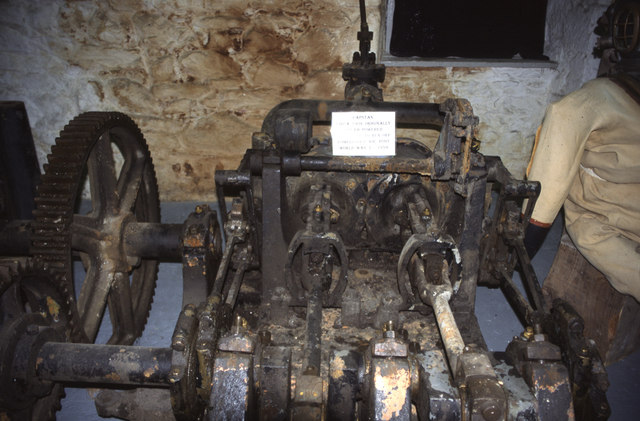 Devonport Dockyard - capstan engine
