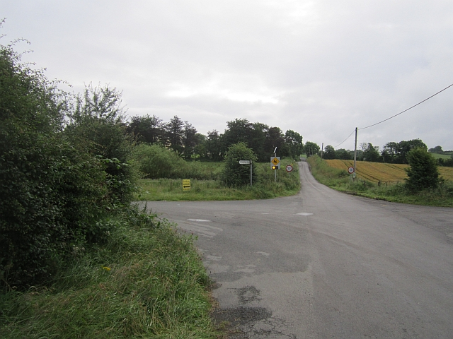 Corboggy cross roads