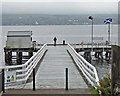 NS1981 : Blairmore Pier by Bob Jones