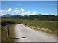 NN4482 : On the track to Lochan na h-Earba by Karl and Ali