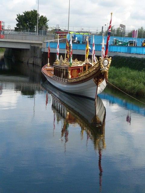 Gloriana Rowing Barge