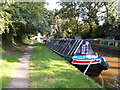 SJ8513 : Working Narrow Boat Hadar moored at Wheaton Aston by Keith Lodge