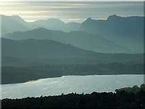 NY2807 : The Langdale Pikes and Windermere by Karl and Ali