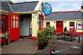 M2208 : The Burren - Ballyvaghan - R477 - Monk's Seafood Pub & Restaurant - Entrance by Joseph Mischyshyn