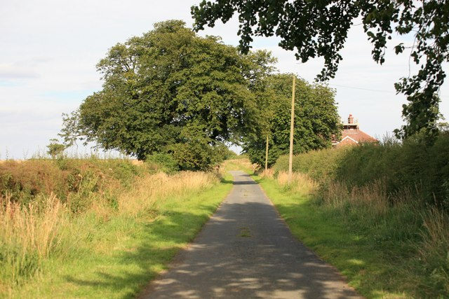 Oliver House in the distance