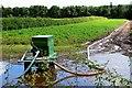 NT6926 : Water pump in field corner by Jim Barton