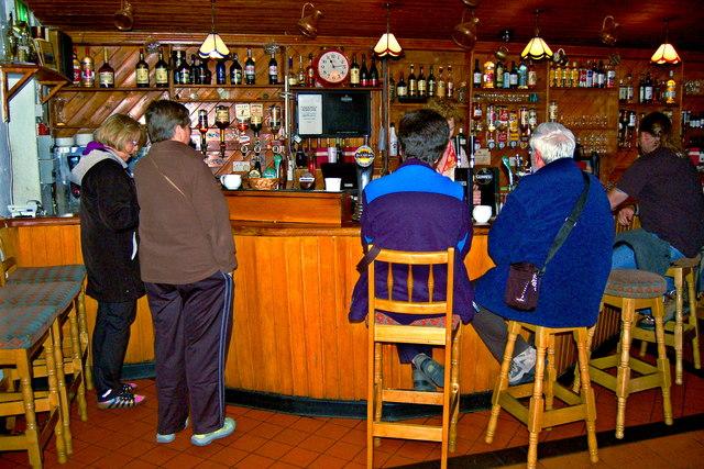 The Burren - Ballyvaghan - R477 - Monk's Seafood Pub & Restaurant - Bar