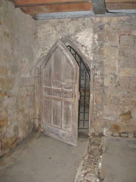 Ancient Door, Brinkburn Manor House