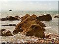 TV6197 : Rocky Shoreline, Eastbourne by David Dixon