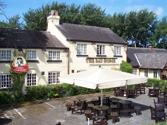 The Bay Horse on Church Road, Formby