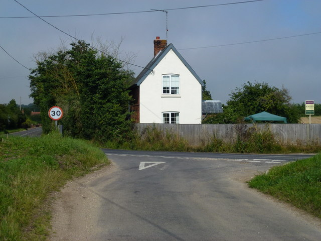 Site of former level crossing, Burnham Market
