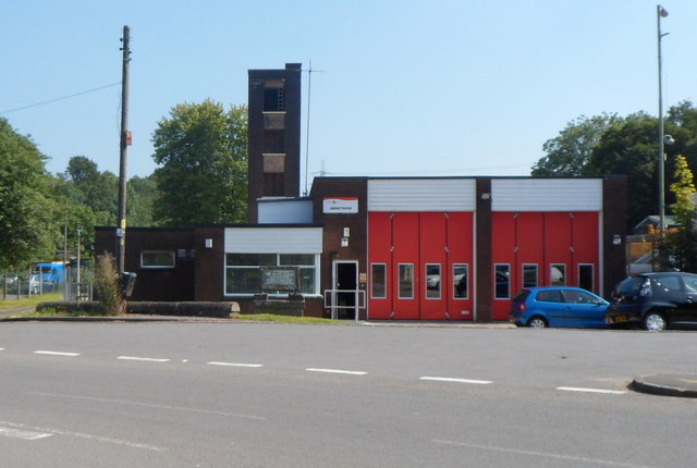Abercynon Fire Station 169 Jaggery Geograph Britain And