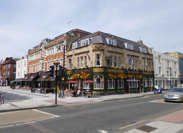 southampton  the london hotel  u00a9 mike faherty    geograph