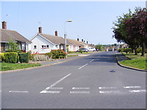 TM3876 : Bedingfield Crescent, Halesworth by Adrian Cable
