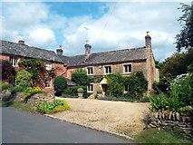SP2225 : Nice House in Upper Oddington by Des Blenkinsopp