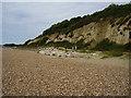 SZ1992 : Sea defences below Steamer Point by Anthony Vosper