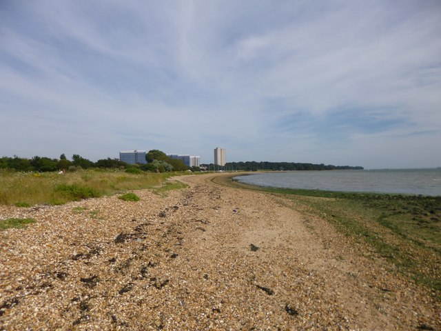 Weston, shingle beach