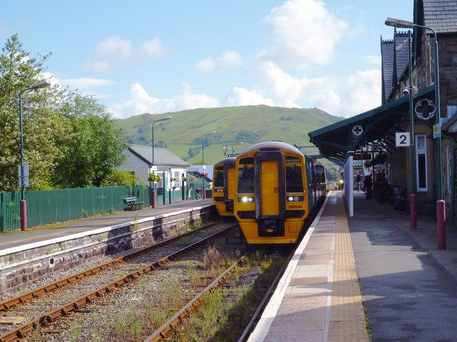 Machynlleth station