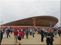 TQ3785 : The velodrome at the Olympic Park by Richard Rogerson