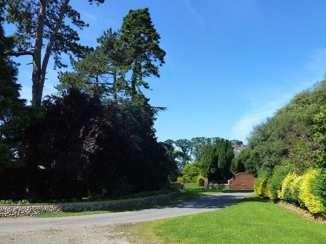 Driveway to Barwick Hall