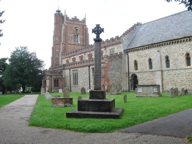 St Nicholas Church, Castle Hedingham Essex