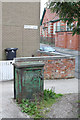 SD7008 : Electricity supply box, Thornbank  by Alan Murray-Rust