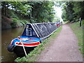 SJ8808 : Working Narrow Boat Hadar moored at Brewood by Keith Lodge