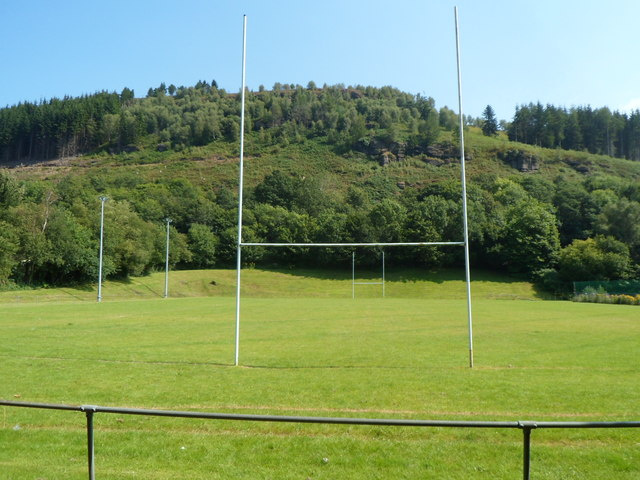From post to post, Abercynon Park, Pontcynon