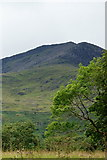 SH5848 : View Towards Moel Hebog, Gwynedd by Peter Trimming