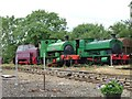 SK8813 : Locomotives at the former Cottesmore Sidings by Christine Johnstone