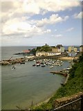 SN1300 : Tenby Harbour by A Holmes