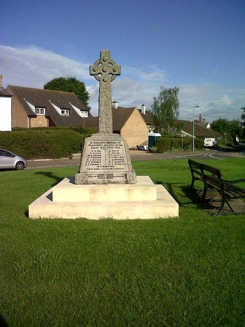 War Memorial, Swaffham Bulbeck