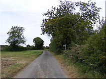 TM4163 : The Green & footpath to Workhouse Lane by Adrian Cable