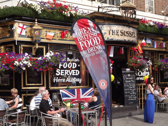 The Sussex, Covent Garden