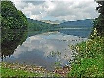 SO0514 : Reflections in the Pentwyn Reservoir by Robin Drayton
