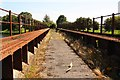 TF2522 : Coronation Channel disused rail bridge by Richard Croft
