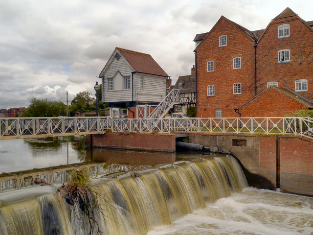 Abbey Mill and Weir, Tewkesbury